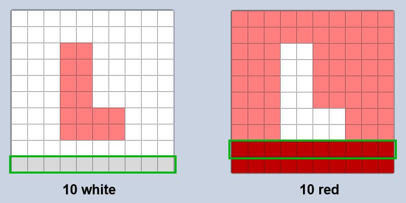 L pattern A